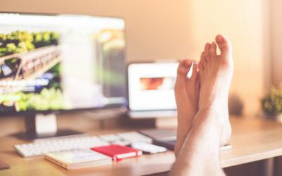 Podnóżki do pedicure – prawa ręka przy pracy